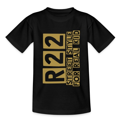 R22 Kid Cutter Or Etincelle - T-shirt Ado