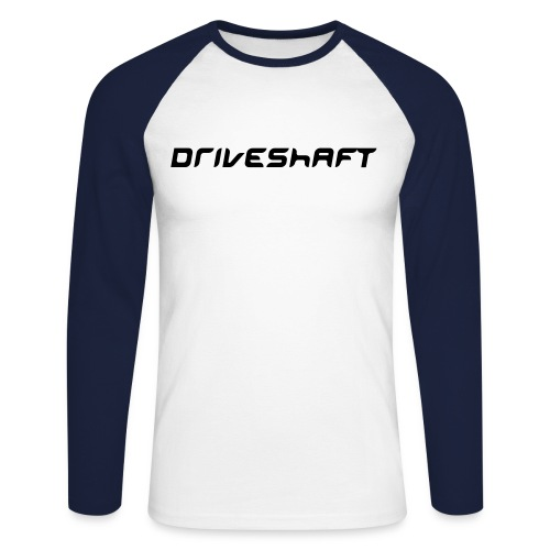Driveshaft - Men's Long Sleeve Baseball T-Shirt