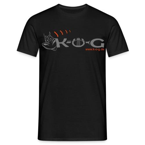 K-O-G Männer Basis-T-Shirt - Männer T-Shirt