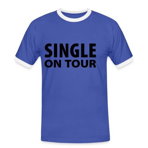 Lovemachine - Männer Kontrast-T-Shirt