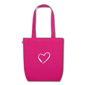 Bag heart collection Agendaeventi - Borsa ecologica in tessuto