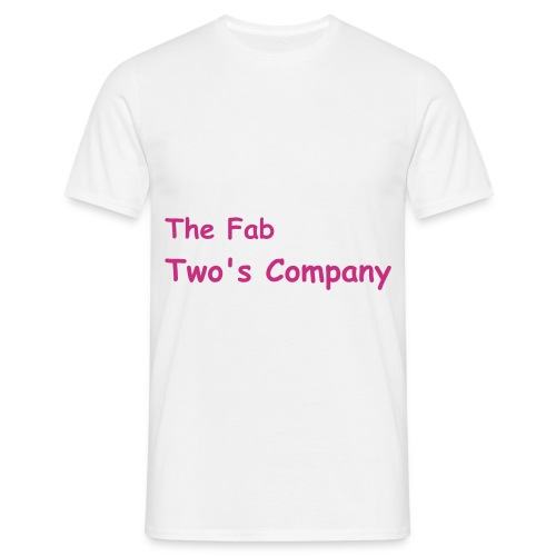 Two's company - Men's T-Shirt