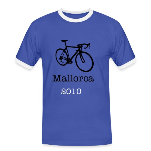 Mallorca on Bike - Camiseta contraste hombre