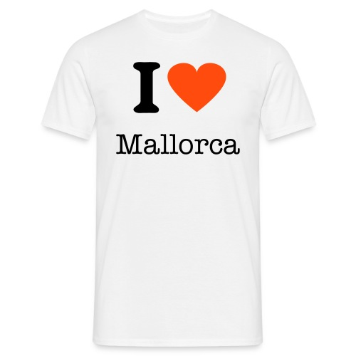I Love Mallorca  - Men's T-Shirt