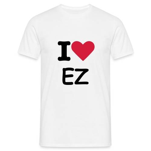 I Heart EZ t-Shirt - Men's T-Shirt