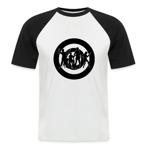 Indie band BB - Camiseta béisbol manga corta hombre