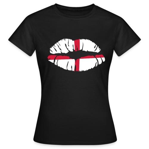 England- Girlie Fanshirt - Frauen T-Shirt
