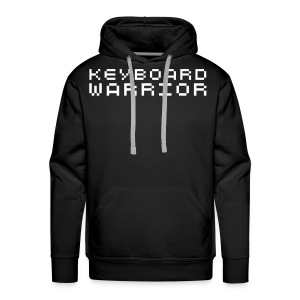 KEYBOARD WARRIOR! - Men's Premium Hoodie