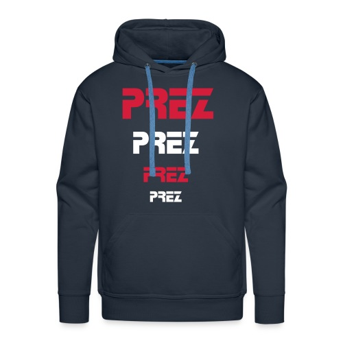 Prez mens unleashed T-Shirt - Men's Premium Hoodie