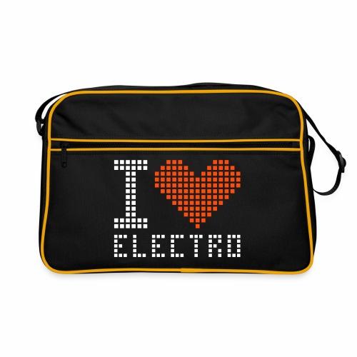 I Love Electro - Retro Tasche