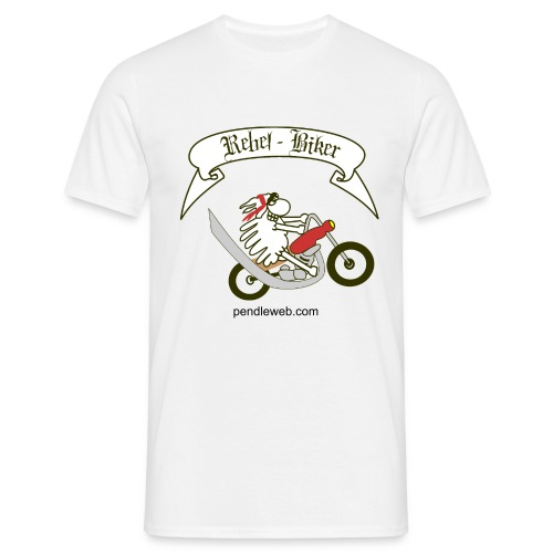 Men's Rebel Biker T.Shirt - Men's T-Shirt