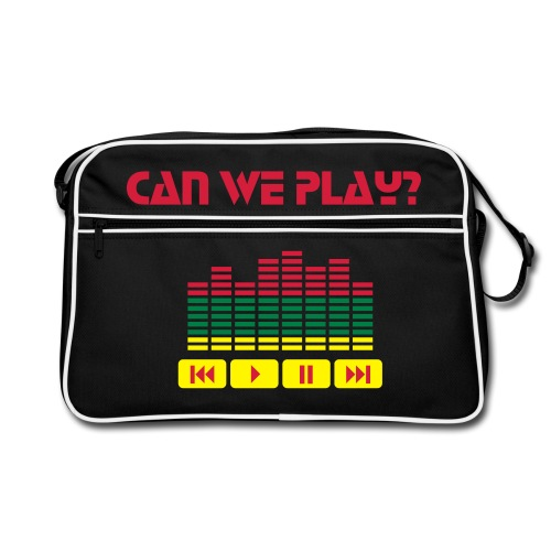Can We Play? - Retro Bag