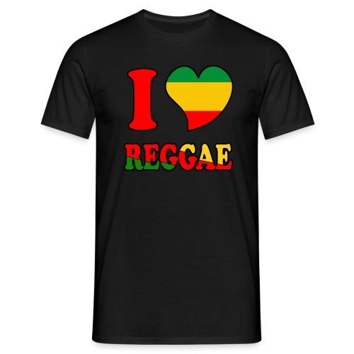 Camiseta I love Reggae (Chico) - Camiseta hombre