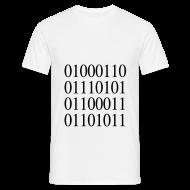 Tee shirts ~ Tee shirt Homme ~ Tee shirt binaire