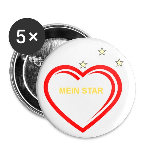 Mein Star (Sticker) - Buttons klein 25 mm