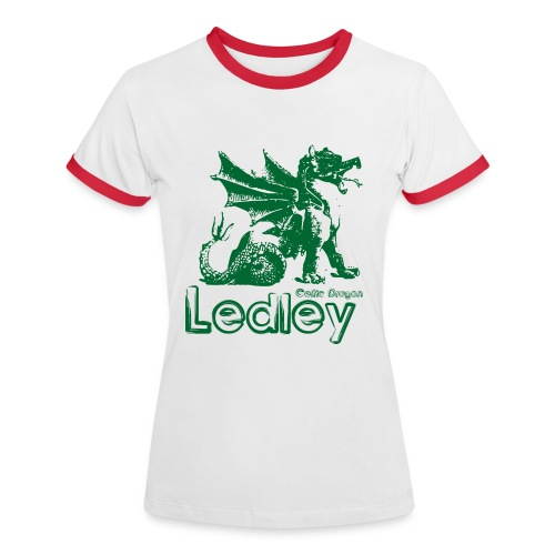 Ledley Celtic Dragon - Women's Ringer T-Shirt