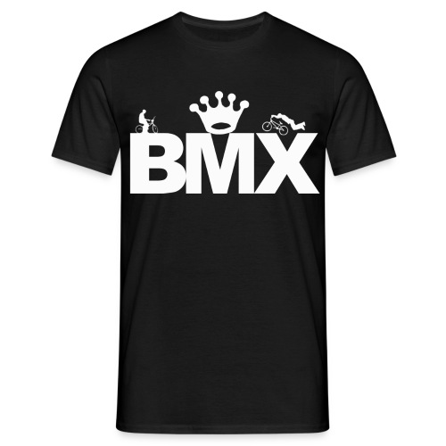 Black BMX T-Shirt Man - Koszulka męska