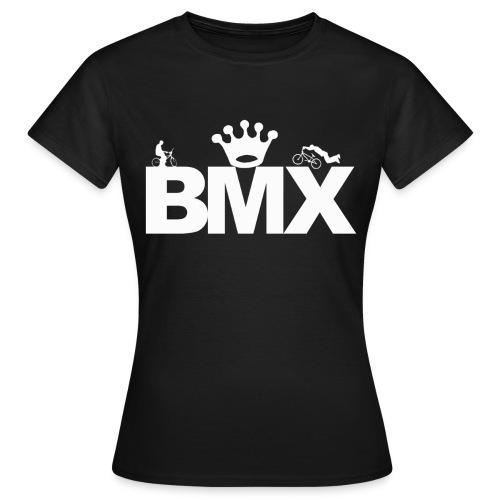 Black BMX T-Shirt Woman - Koszulka damska