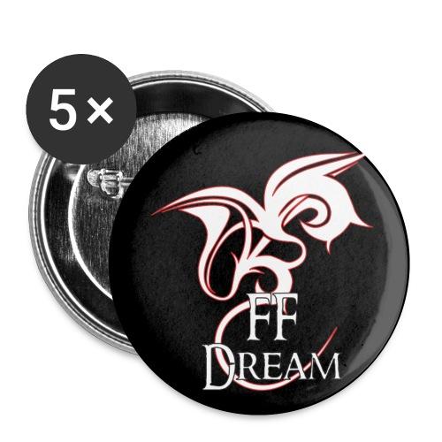 Pins FFDream - rouge - Badge petit 25 mm