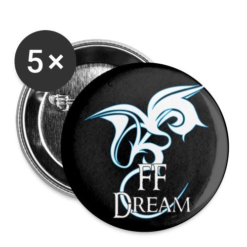 Pins FFDream - bleu - Badge petit 25 mm