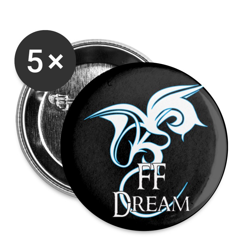 Pins FFDream - bleu - Badge petit 25 mm