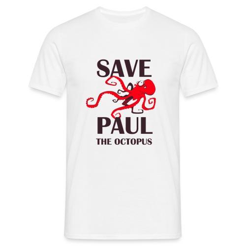 Paul le poulpe Save Paul t-shirt English Edition Men - T-shirt Homme