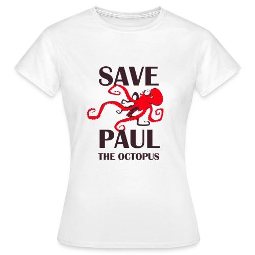 Paul le poulpe Save Paul t-shirt English Edition Women - T-shirt Femme