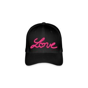 FlexFit Cap Love Pink - Casquette Flexfit