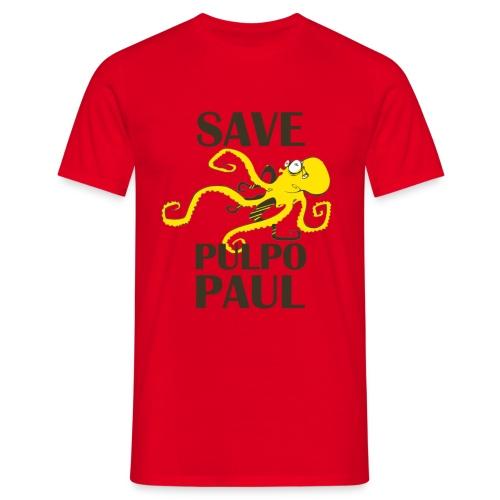 Paul le poulpe Save Paul t-shirt Roja Edition Men - T-shirt Homme
