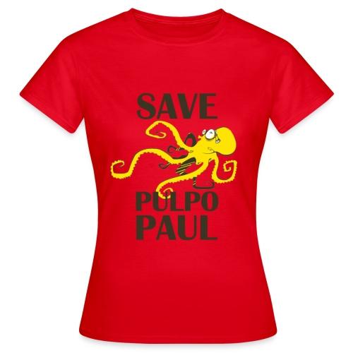 Paul le poulpe Save Paul t-shirt Roja Edition Women - T-shirt Femme
