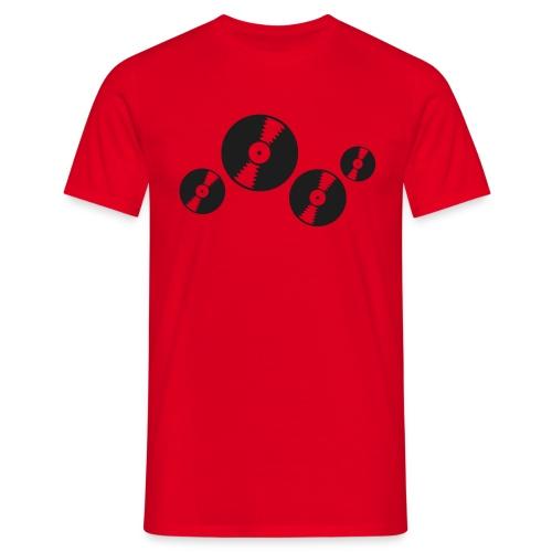 T Shirt Vinyl scintillante - Maglietta da uomo