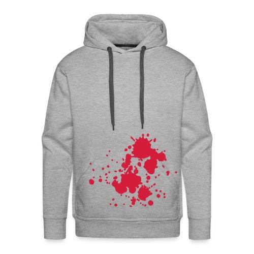 Blood - Felpa con cappuccio premium da uomo