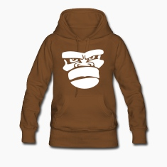 Brown gorilla monkey affengesicht ape Hoodies & Sweatshirts