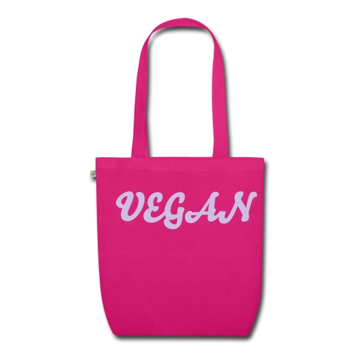 Vegan Organic Tote jeans/lilac - EarthPositive Tote Bag