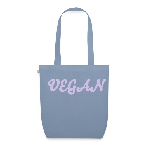 Vegan Organic Tote red/lilac - EarthPositive Tote Bag