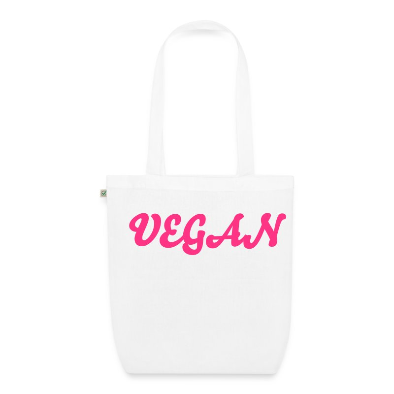 Vegan Organic Tote green/yellow/pink - EarthPositive Tote Bag