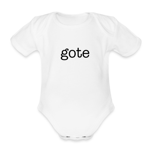Gote Baby Grow - Organic Short-sleeved Baby Bodysuit