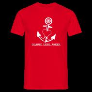 T-Shirts ~ Männer T-Shirt ~ T-Shirt mit Anker