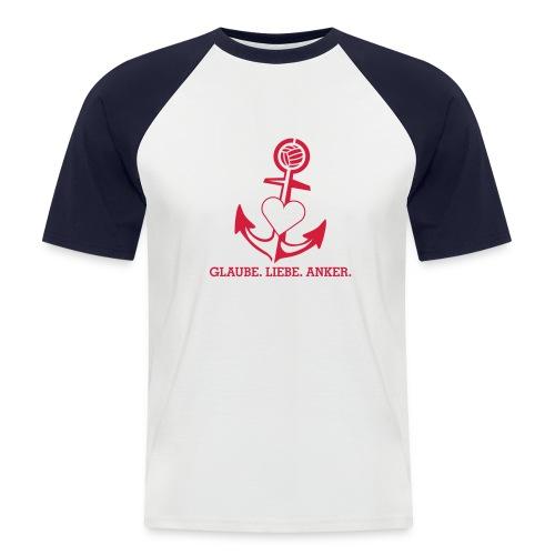 T-Shirt mit Anker - Männer Baseball-T-Shirt