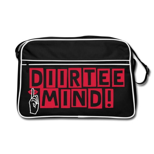 Diirtee Mind Side Bag  - Retro Bag