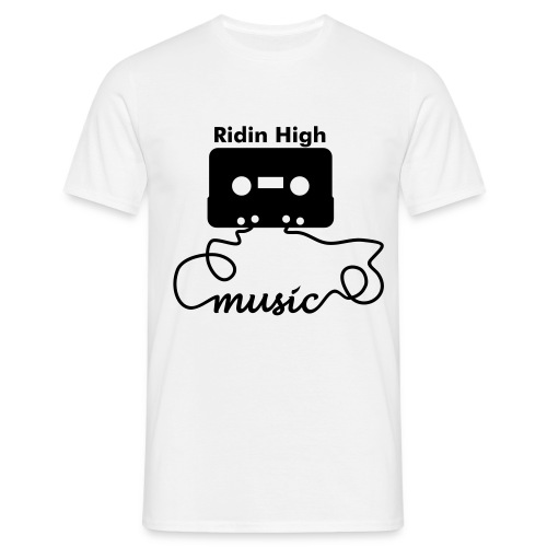 Ridin High Music 1 - T-shirt Homme