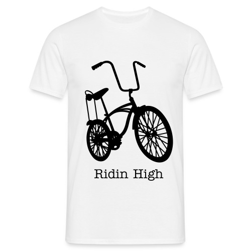 Ridin High Music Bike - T-shirt Homme