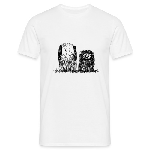 tee-shirt chiens - T-shirt Homme