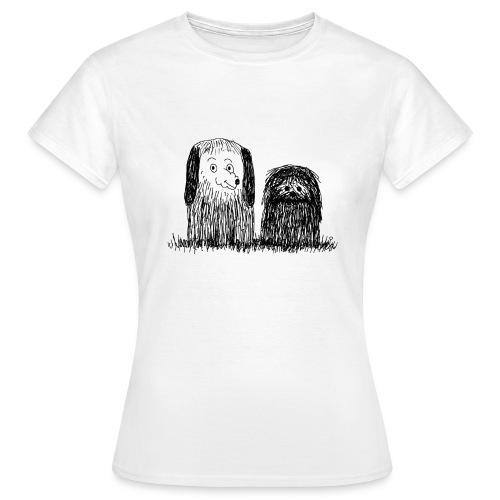 tee-shirt chien - T-shirt Femme