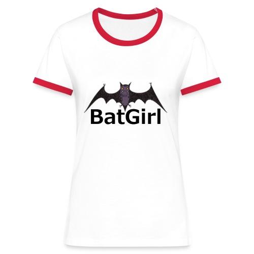 BatGirl - Vrouwen contrastshirt