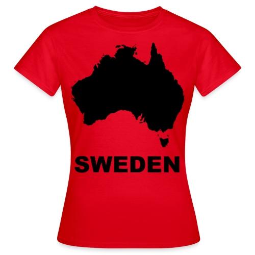 Magellan Black - T-shirt dam