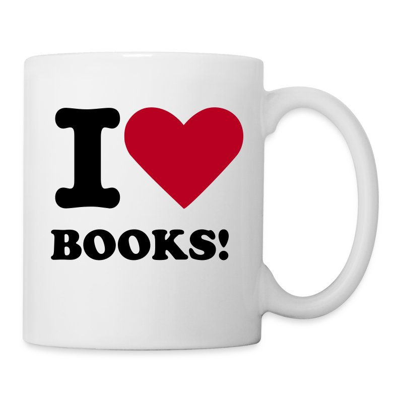 I Love Books - Tasse - Tasse