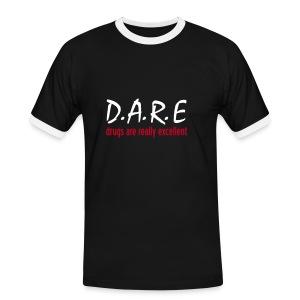 D.A.R.E - Men's Ringer Shirt