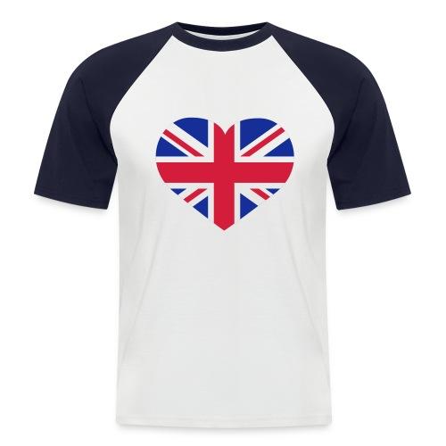 T-SHIRT COURTE HOMME ANGLAIS - T-shirt baseball manches courtes Homme