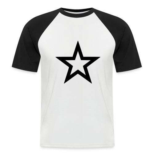 T-SHIRT COURTE HOMME ETOILE - T-shirt baseball manches courtes Homme